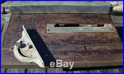 Vintage Craftsman 103 Series Table Saw with Mitre & Fence 103-0207