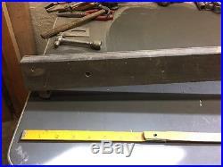 Vintage Craftsman 113 10 Table Saw Micro Adjust Fence! Nice Shape