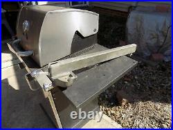 Vintage Craftsman 113 Series Table Saw Geared Fence