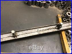 Vintage Craftsman 8 Table Saw Micro Adjust Fence Rail! Great Shape