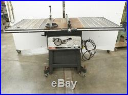Vintage Craftsman Table Saw 10 Toothed Fence Rail