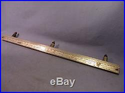 Vintage Craftsman Table Saw Front Fence Rail 20 Long / AT 67