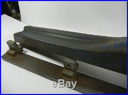 Vintage Craftsman Table Saw Rip Fence and rail Model off 101-02143 series saw