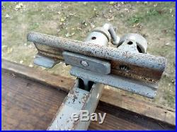 Vintage Delta 8 Tilting Top Table Sawith14 Band Saw Rip Fence withRails-Rockwell