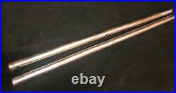 Vintage Delta Rockwell 10 Tilt Table Top Saw Pair Of Rip Fence Rails 36 Long