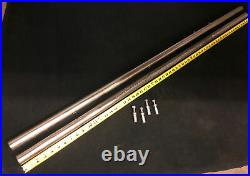 Vintage Delta Rockwell 10 Unisaw 34-450 61 Rip Fence Rail Set withMounting Bolts