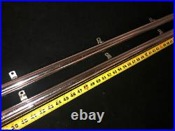 Vintage Delta Rockwell 10 Unisaw 34-450 70 Rip Fence Rail Set withMounting Bolts