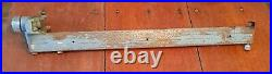 Vintage Delta Rockwell Milwaukee Unisaw Table Saw Rip Fence Guide