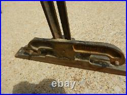 Vintage Fence Assembly Possible Table Saw Or Jointer Part
