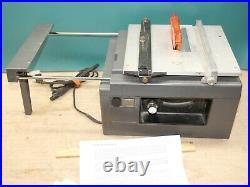Vintage Micro-Mark Table Saw & Accuriser II 80467 vernier adjustable rip fence