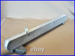Vintage Shopsmith Mark VII Rip Fence for table saw Lever Lock