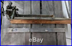 Vintage Walker Turner Driver Line Fence and Rail From 10 In Table Saw