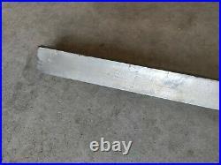 Vintage Walker Turner Table Saw Fence Rail 41 1/2 x 1 1/2 x 1/2