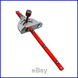 Woodworking Bandsaw Table Saw Router Angle Table Mitre Guide Gauge Fence Cut
