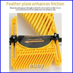 Woodworking Featherboard Feather Loc Board Set for Table Saws Band Saws Fence